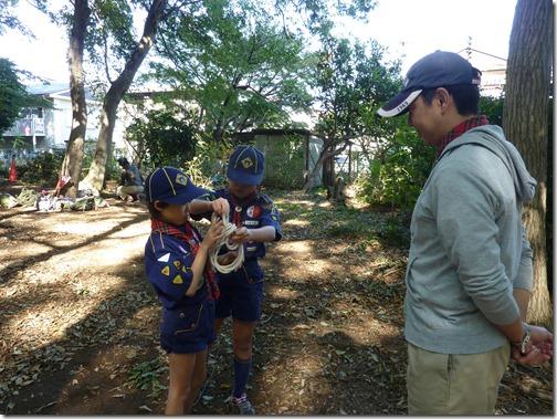 2014-10-19 カブ運動公園ハイキング 037