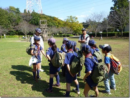 2014-10-19 カブ運動公園ハイキング 059