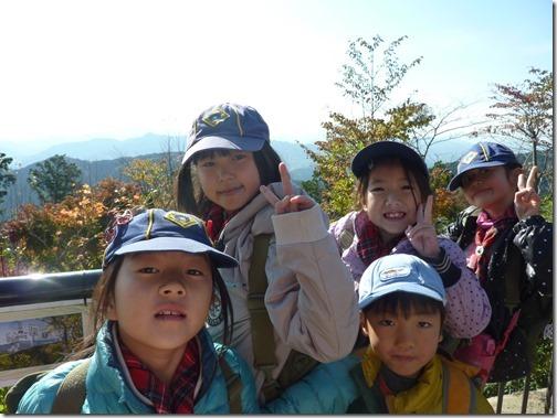 2014-11-16 カブ高尾山登山 032